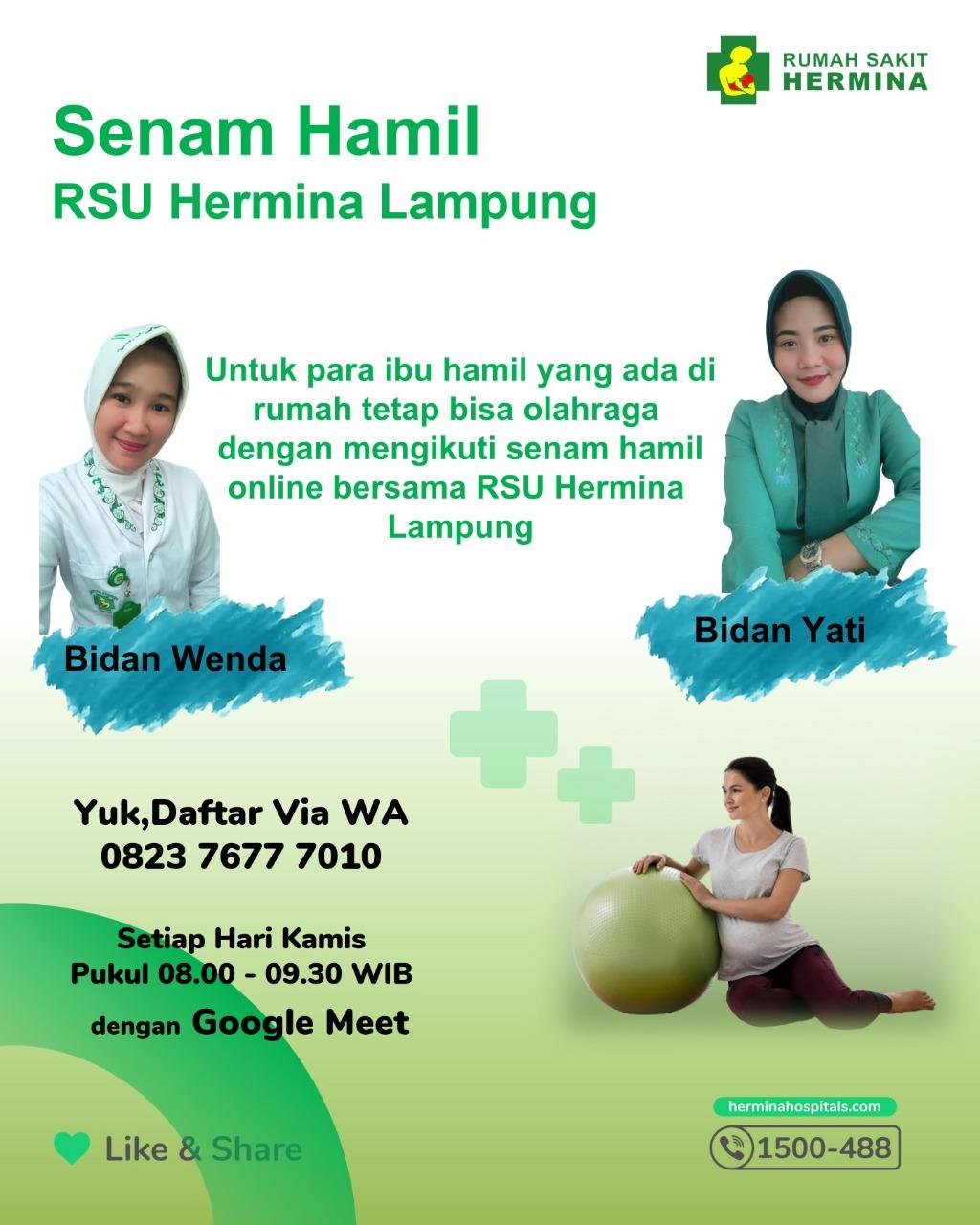 Hermina Hospitals | Senam Sehat Online