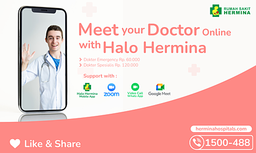 Meet your Doctor online with HALO HERMINA