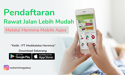 Registration With Hermina Mobile Apps