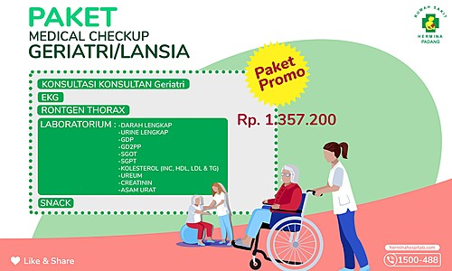 Paket Promo Geriatri RSU Hermina Padang