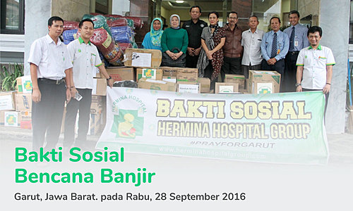 Charity Program for Flood Tragedy in Garut