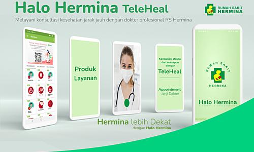 Halo Hermina, Layanan Konsultasi Jarak Jauh Dengan Dokter Profesional RS Hermina