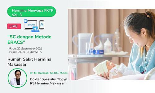 "Hermina Greets FKTP ""Sc with ERACS Method"""