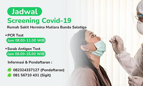 Covid-19 Screening Schedule