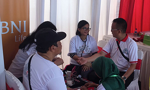 Medical Check on People Festival
