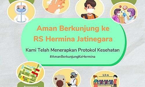 Aman Berkunjung ke RS Hermina Jatinegara