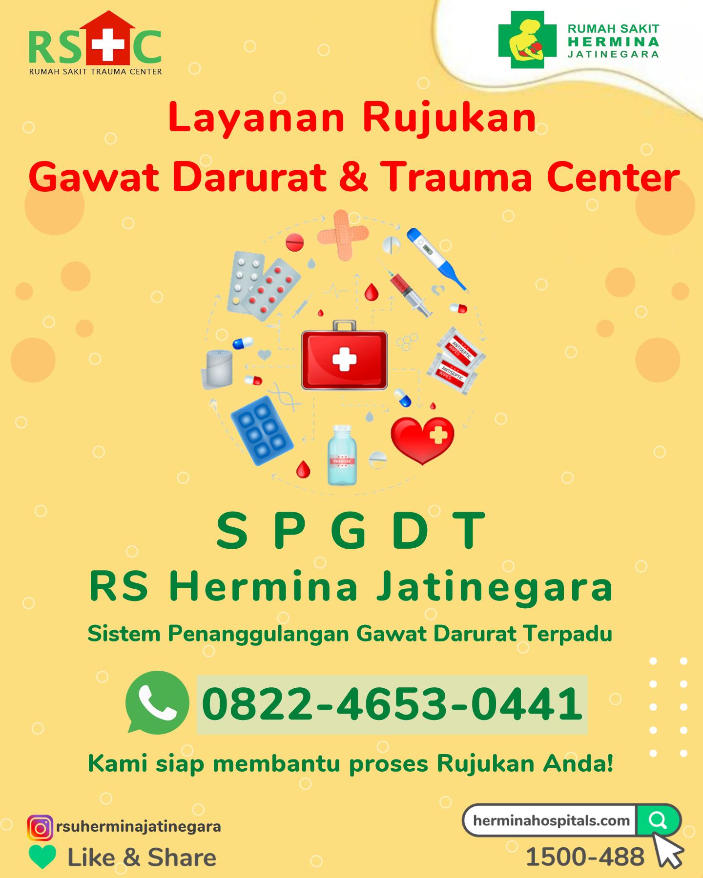 Sistem Penanggulangan Gawat Darurat Terpadu RS Hermina Jatinegara