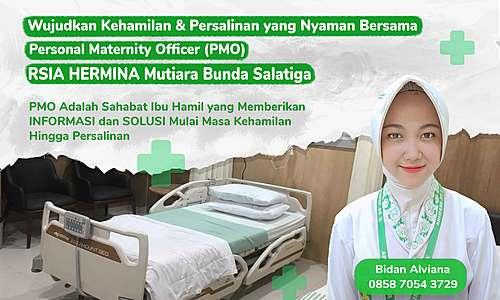 Personal Maternity Officer RSIA HERMINA Mutiara Bunda Salatiga
