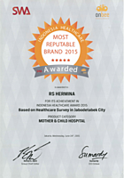 Hermina Award SWA Most Reputable Brand - 2015
