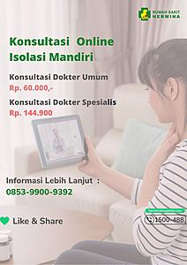 Konsultasi Online Isolasi Mandiri
