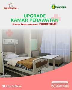 Upgrade Kamar Perawatan Khusus Peserta Asuransi Prudential