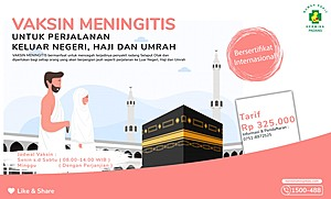 Promo Vaksin Meningitis RSU Hermina Padang