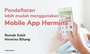 Pendaftaran rawat jalan lebih mudah menggunakan mobile app hermina