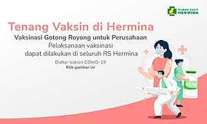Vaksinasi Covid19 untuk Perusahaan Rekanan