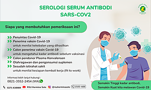 Serologi Serum Antibody Covid-19