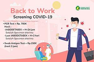 Paket PCR Test screening Covid19