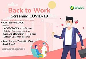 Back To Work Screening COVID-19