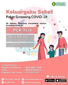 Keluargaku Sehat - Paket Screening COVID-19