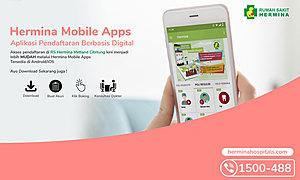 Mendaftar lebih mudah dengan Hermina Mobile Apps