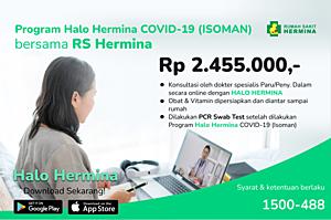 PROGRAM HALO HERMINA COVID19 (ISOMAN)