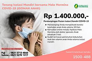 Paket Halo Hermina Covid-19 Anak (ISOMAN)
