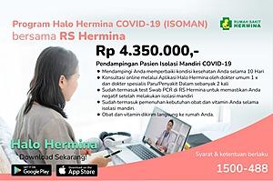 Program Halo Hermina Isoman Covid 19
