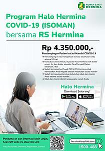Paket Halo Hermina Covid-19 (ISOMAN)