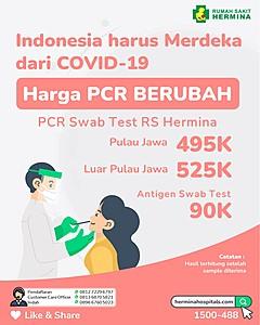 Indonesia Harus Merdeka dari COVID-19