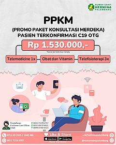 PPKM (Promo Paket Konsultasi Merdeka) Pasien terkonfirmasi C19 OTG