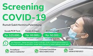Paket Screening COVID-19 RS Hermina Palembang