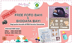 Free Foto Bayi dan Biodata Bayi