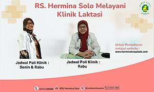 RS Hermina Solo Melayani Klinik Laktasi