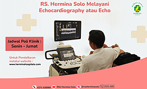RS Hermina Solo Melayani Echocardiography atau Echo