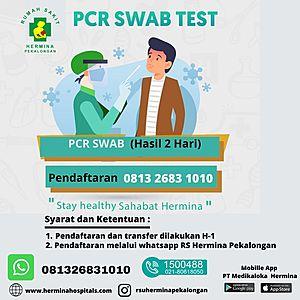 Pemeriksaan SWAB / PCR Hasil H+2