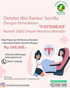 Promo Akhir Tahun - Pemeriksaan PAPSMEAR